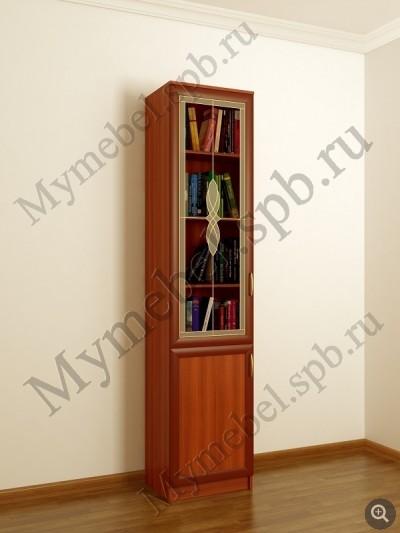 Книжный шкаф со стеклянными дверцами шккн(i)3 / санкт-петерб.