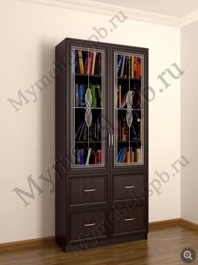 Шкафы со стеклянными дверями фото
