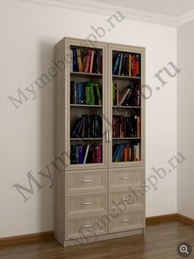 Шкаф с книжными полками шккн(2)5 / санкт-петербург.