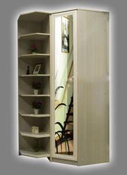 Шкаф угловой с консолью